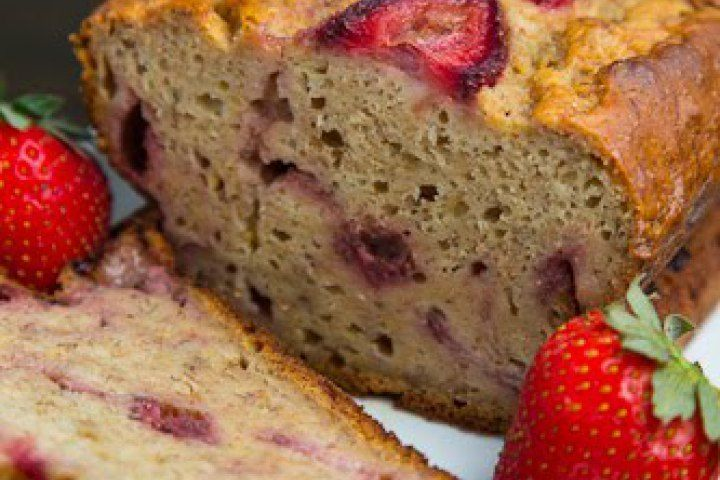 Strawberry Greek Yogurt Banana Bread Recipe — Dishmaps
