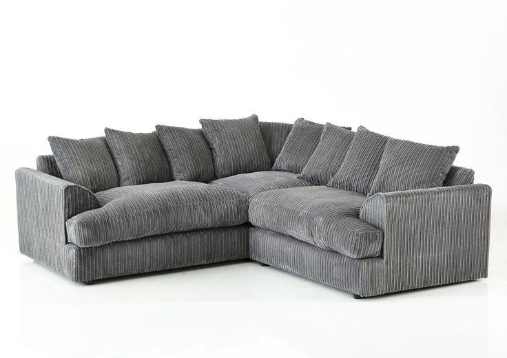 Grey corner sofa fabric corner sofa home comforts pinterest