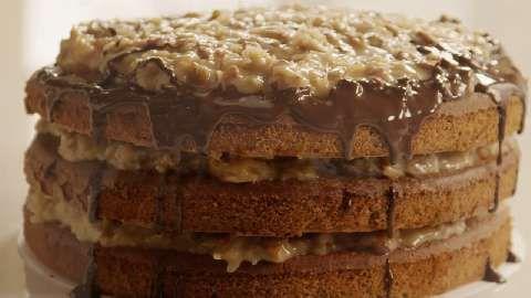 German Chocolate Cake III Allrecipes.com | Yum: takes the cake | Pint ...