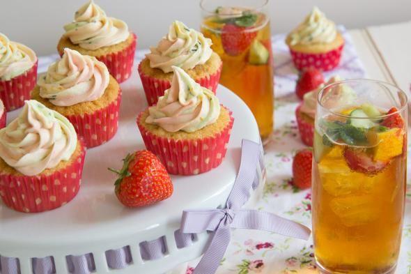 DIY Cupcake Recipes : DIY Pimm's cupcakes (updated recipe)
