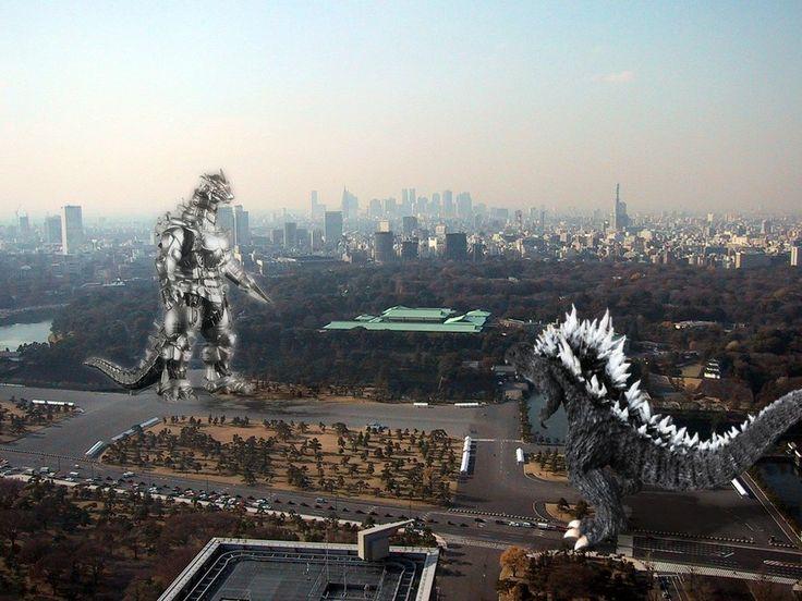 Godzilla vs. Kiryu | GODZILLA (& FRIENDS) | Pinterest