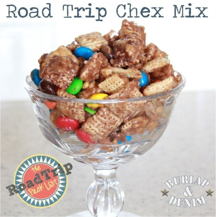 Road Trip Chocolate & Coconut Chex Mix | Football Tailgate Party | P ...