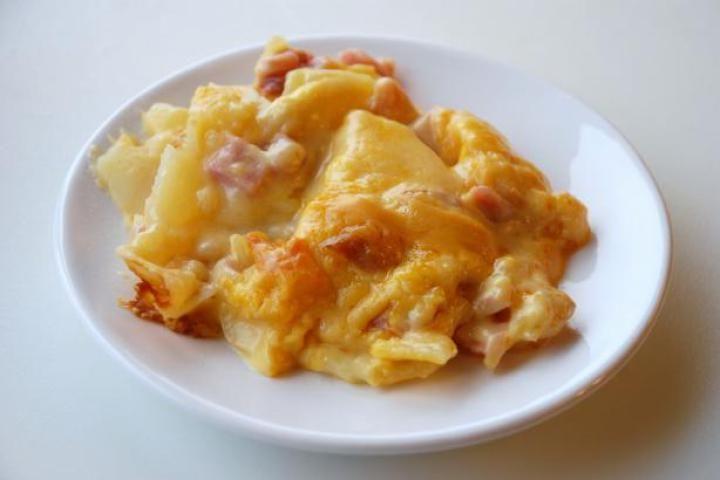 Scalloped Potatoes and Ham | Food | Pinterest