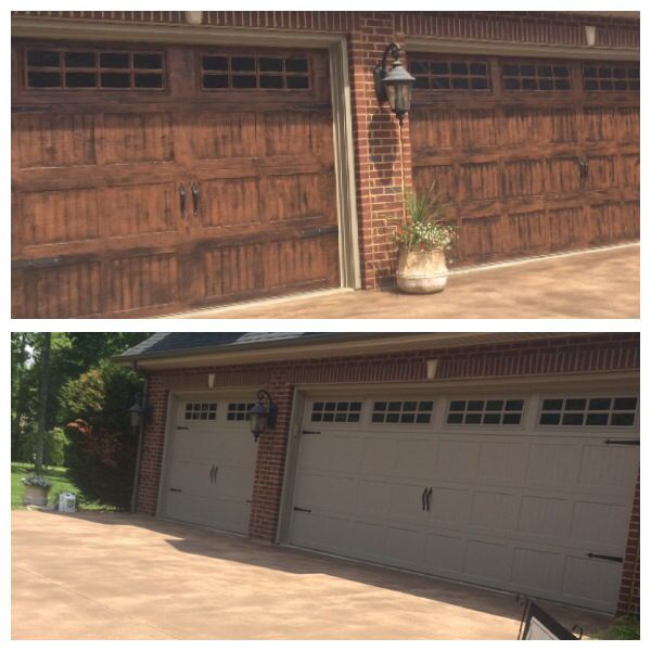 Gel Stained Garage Doors Outdoor Living Pinterest