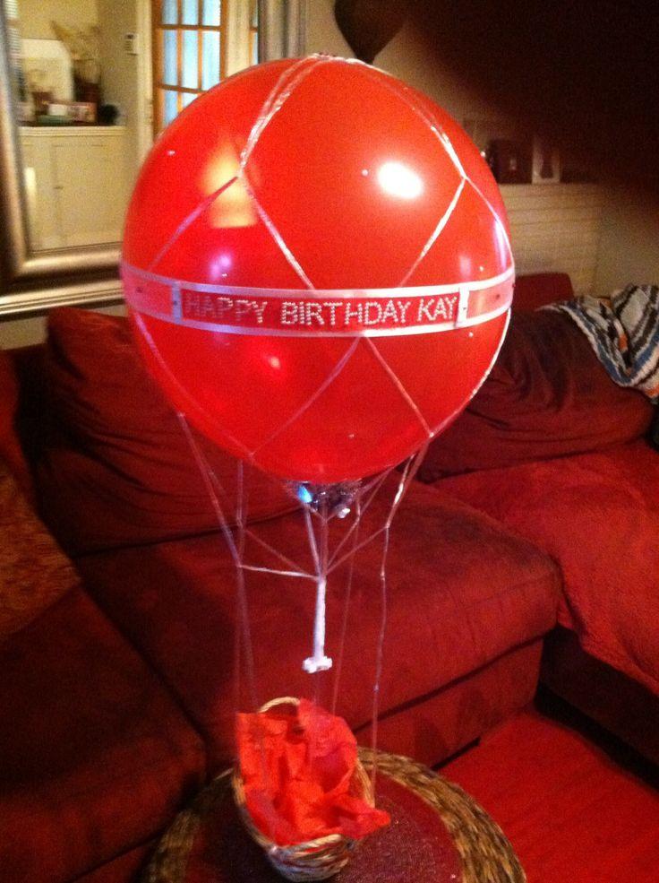 hot air balloon basket 17 dc candy drops llc pinterest