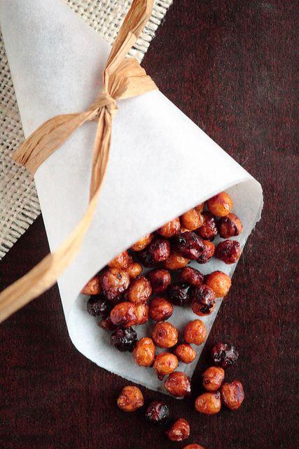 honey cinnamon roasted chickpeas by pastryaffair via flickr