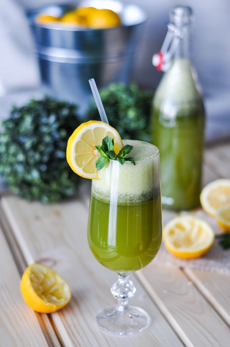 Mint lemonade | You put the lime in the coconut. | Pinterest