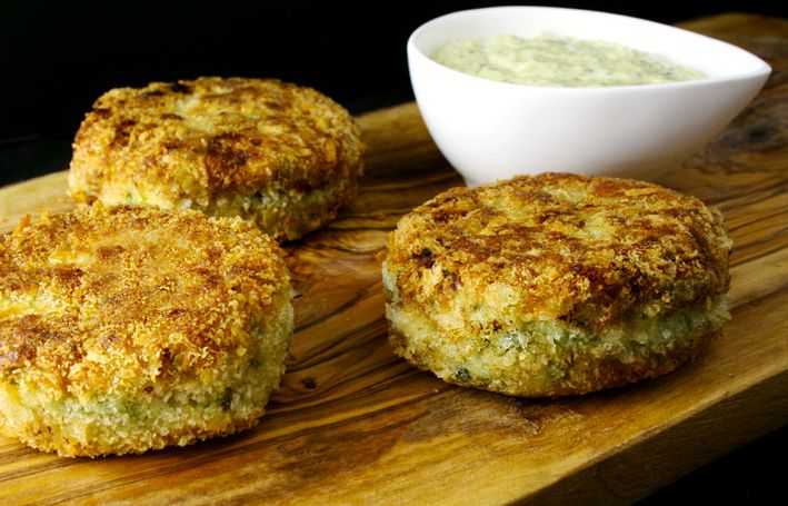 Fish Cakes with Preserved Lemon Aioli | yummy yummy in my tummy | Pin ...