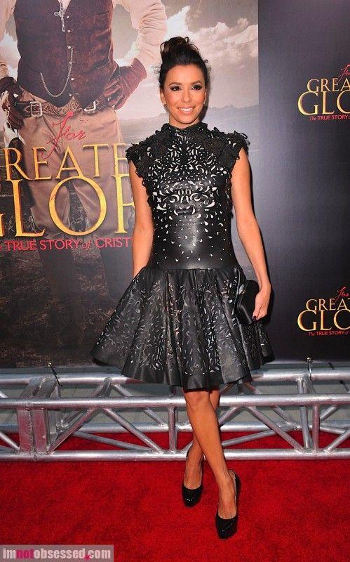 Eva Longoria in Marchesa @ Movie Premiere 2012