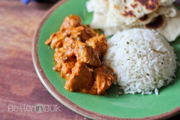 Slow Cooker Butter Chicken and Naan - Better in Bulk. Daughter-in-law ...