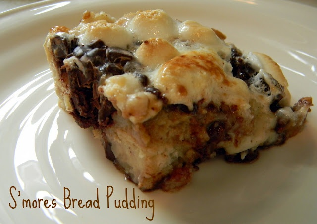 mores bread pudding | Food | Pinterest