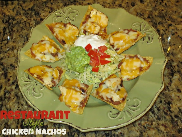 Restaurant Style Chicken Nachos Recipe — Dishmaps