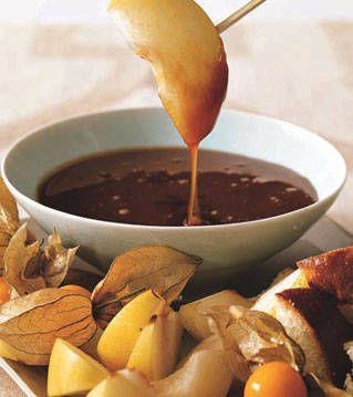 ... at PointClickHome.com – Ginger Caramel Fondue Recipe - ELLE DECOR