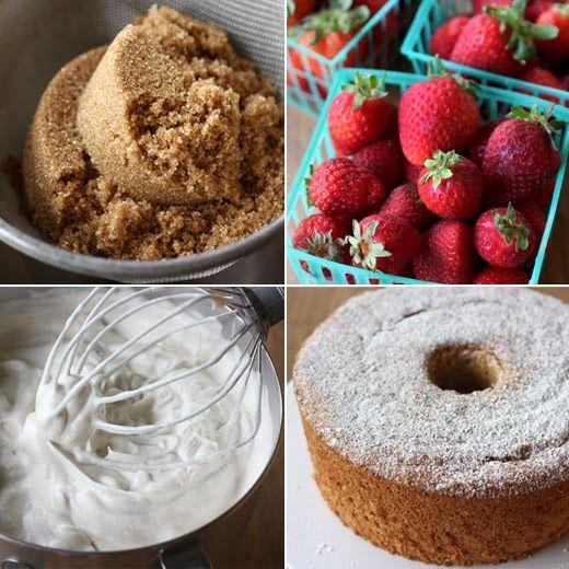 Brown Sugar Angel Food Cake | Desserts | Pinterest