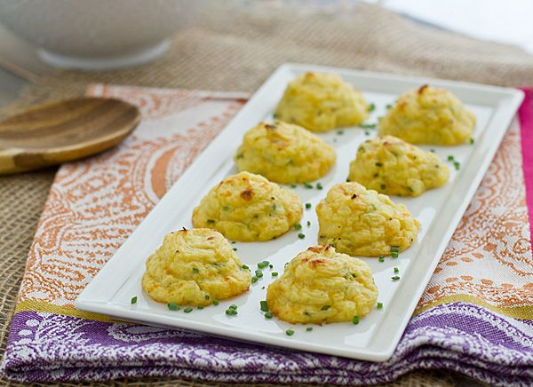 Trimmed-Down Cheddar & Chive Duchess Potatoes {Made with Cauliflower ...