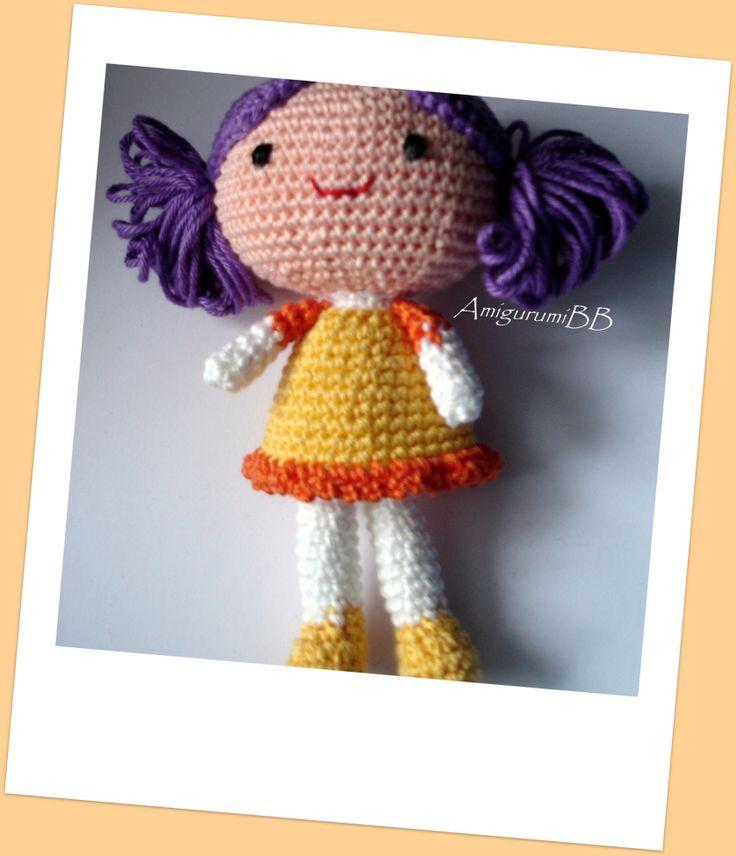 Amigurumi Doll Free Pattern : Pinterest