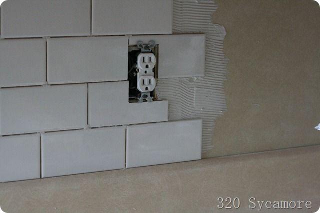 how to install subway tile backsplash kitchens pantries pintere