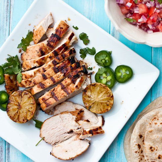 Tequila-Lime Chicken Fajitas. | Chicken etc. (Poultry) | Pinterest