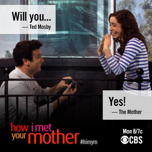 Ted Mosby Quotes About Love Season 9 : WIll you
