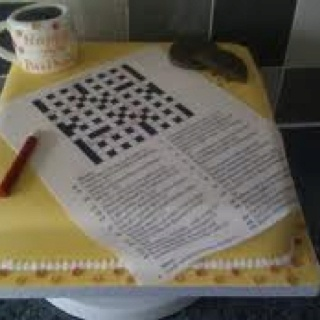 crossword puzzle and d day