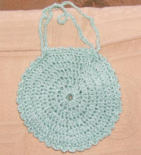 Crochet Little Bag : Little crocheted bag Crochet Pinterest