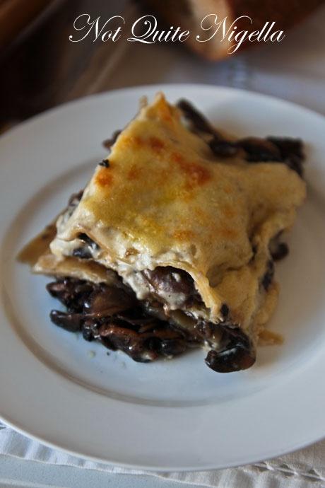 Mushroom lasagna | Delectable Danties | Pinterest
