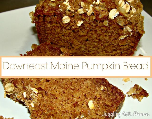 ... .com/2013/06/downeast-maine-pumpkin-bread.html #pumpkin #quickbread
