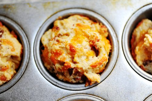 Bacon Onion Cheddar Biscuits / Pioneer Woman...just gonna leave the ...