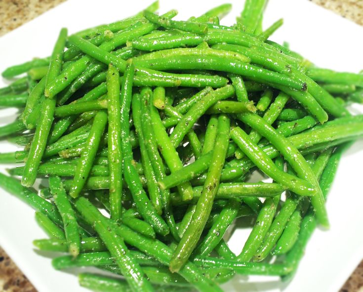 Garlicky Green Beans in Olive Oil | Recipe