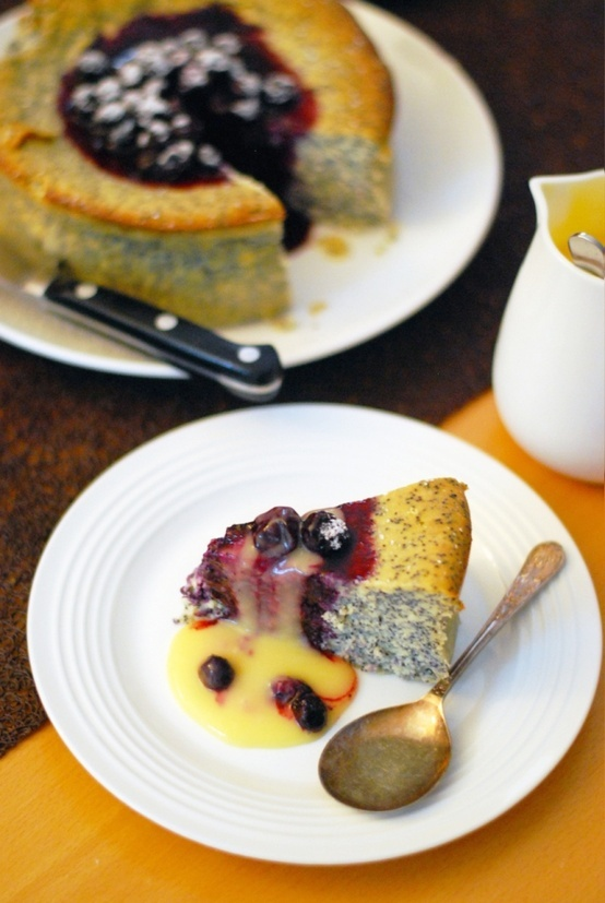lemon curd ricotta cake with meyer lemon curd recipe dishmaps ricotta ...