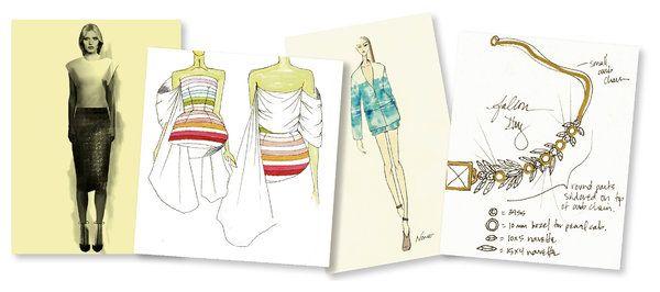 enter designer stars york fashion week they hope