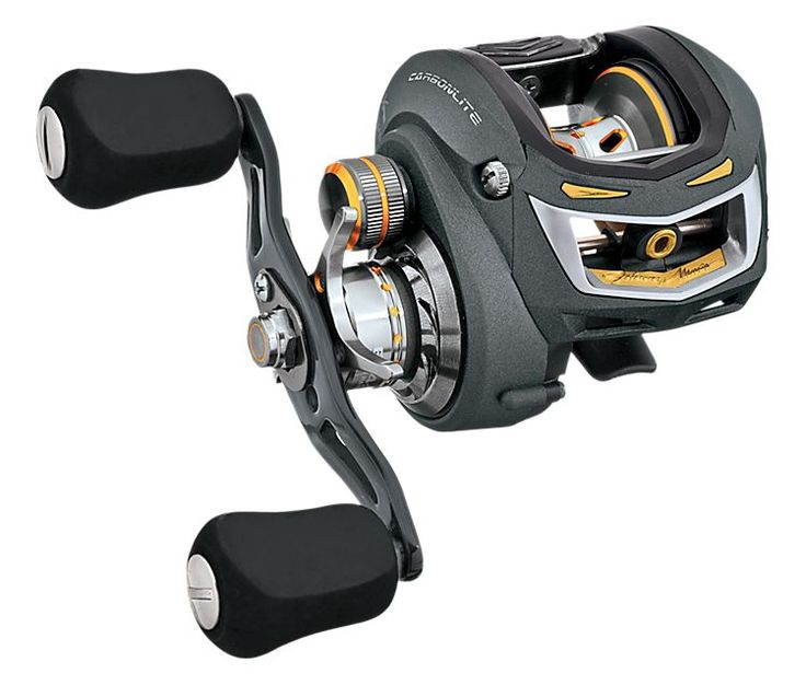 Bass pro shops johnny morris carbonlite a baitcast reels for Bass pro fishing reels