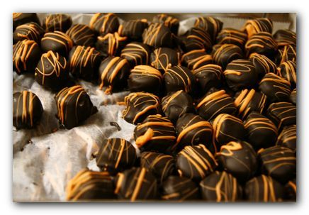 Chocolate-Orange Truffles   Food...Fudge & Candy   Pinterest