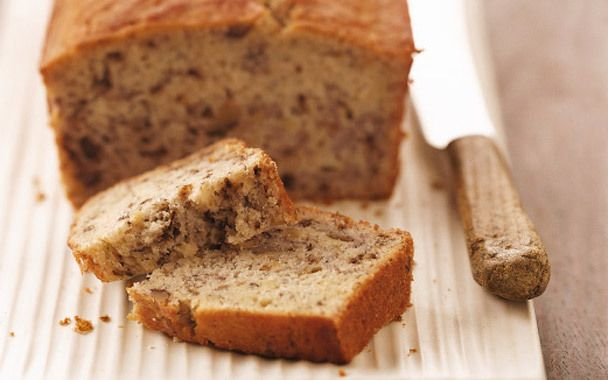 Low Fat Banana Nut Bread Recipe — Dishmaps