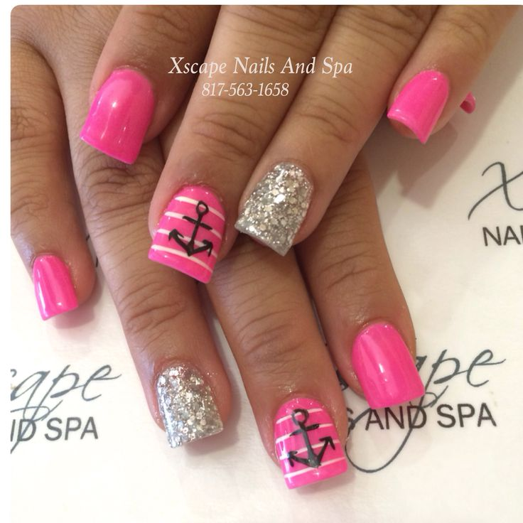 Cute Nail Designs With Anchors Cute Nail Designs With Anchors