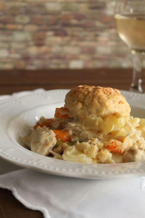 Creamy chicken pot pie | chicken | Pinterest