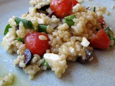Greek Wheat Berry Salad | Recipes to Try | Pinterest