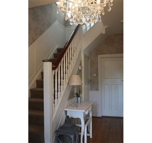 Stairs and entryway design entry foyer pinterest for Foyer staircase ideas