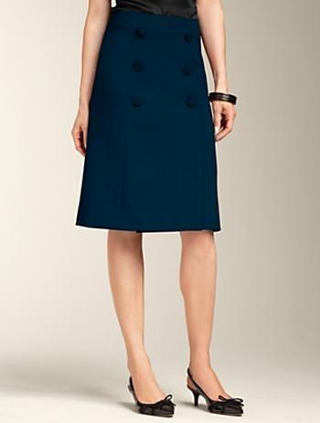 ponte knit a line skirt fashion and