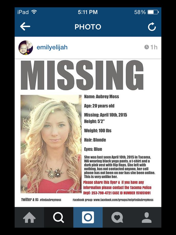 Twitter PL8PIC Missing Person Alerts Pinterest Twitter - missing person picture