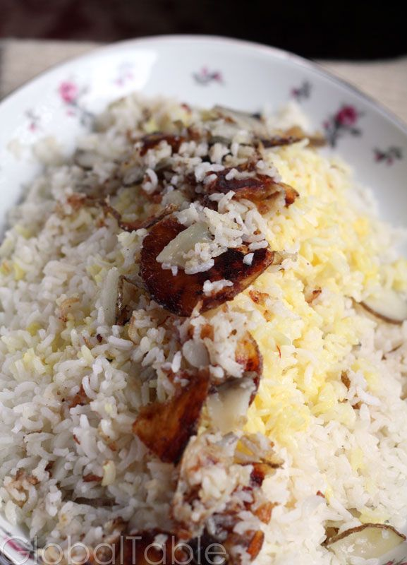 rice pilaf with honey and almonds saffron rice pilaf recipe parsi ...