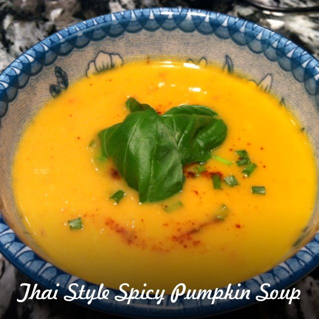 Spicy Pumpkin Soup Recipe, Thai Style   Hearty Soups   Pinterest