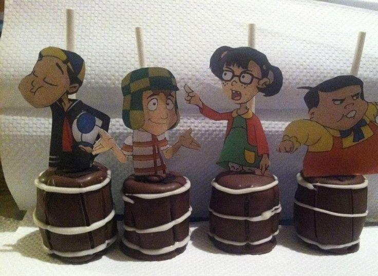 El Chavo del ocho cake pops!!!