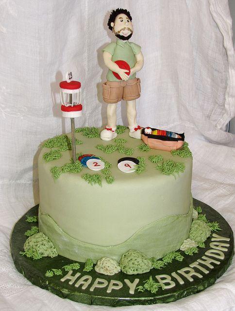 Disc Golf Cake by EB Cakes, via Flickr