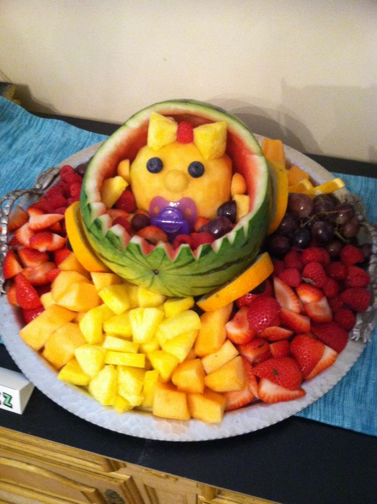 fruit salad decoration for baby shower baby shower fruit salad cute