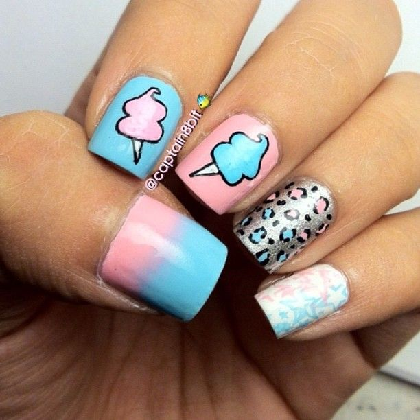 Dorable Candy Nail Art Photos - Nail Paint Design Ideas ...