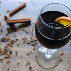 mulled red wine sangria, christmas party! | Happy Holidays | Pinterest