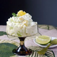 Fresh Lime & Pineapple Fluff | Recipes---Sweets and Such | Pinterest
