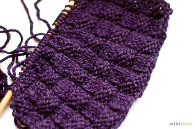 Knitting Basket Stitch : How to knit the basketweave stitch