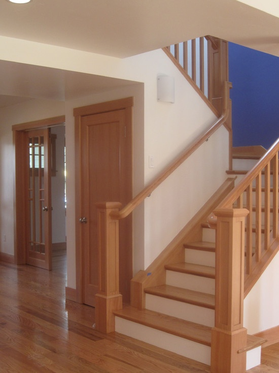 Best Craftsman Style Staircase Design Staircases Railings 400 x 300